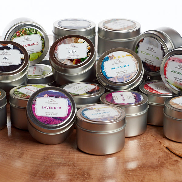 Soy 4 oz. Travel Tins by Style Candles