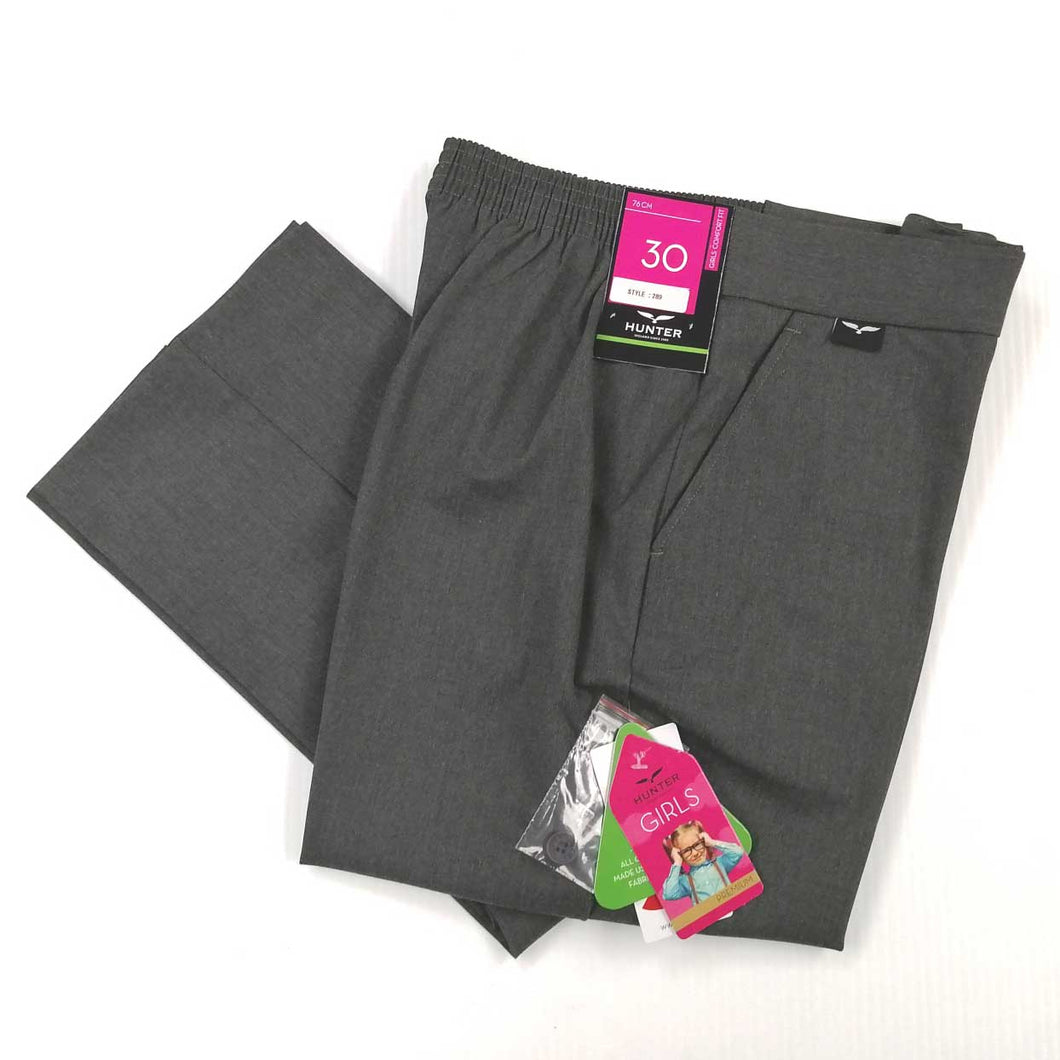 Girls Pants Sturdy Grey Senior