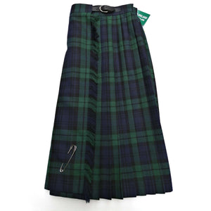 Girls Kilt Skirt Blackwatch Fabric.  Available to order.