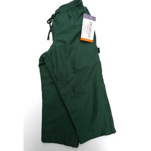 Jog Pants Microfibre Zip Ends Green