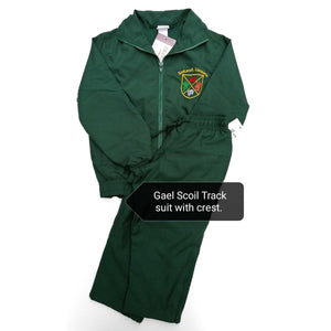 Crested Track Suit Bottle Green