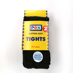 Girls Tights Twin Pack Navy