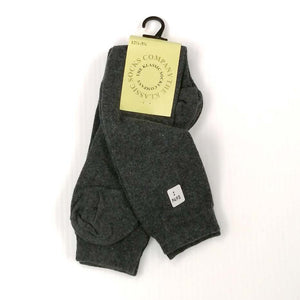 Girls Knee High Socks Twin Pack - Grey