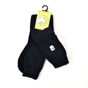 Girls Knee High Socks Twin Pack - Navy