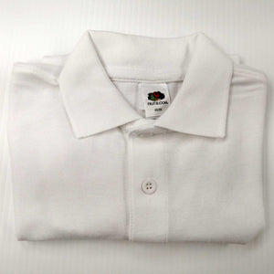 Screen Stars Polo Shirt White