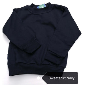 Sweatshirt Round Neck Navy