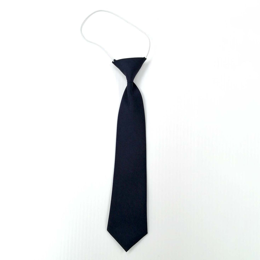 Tie Navy on Elastic