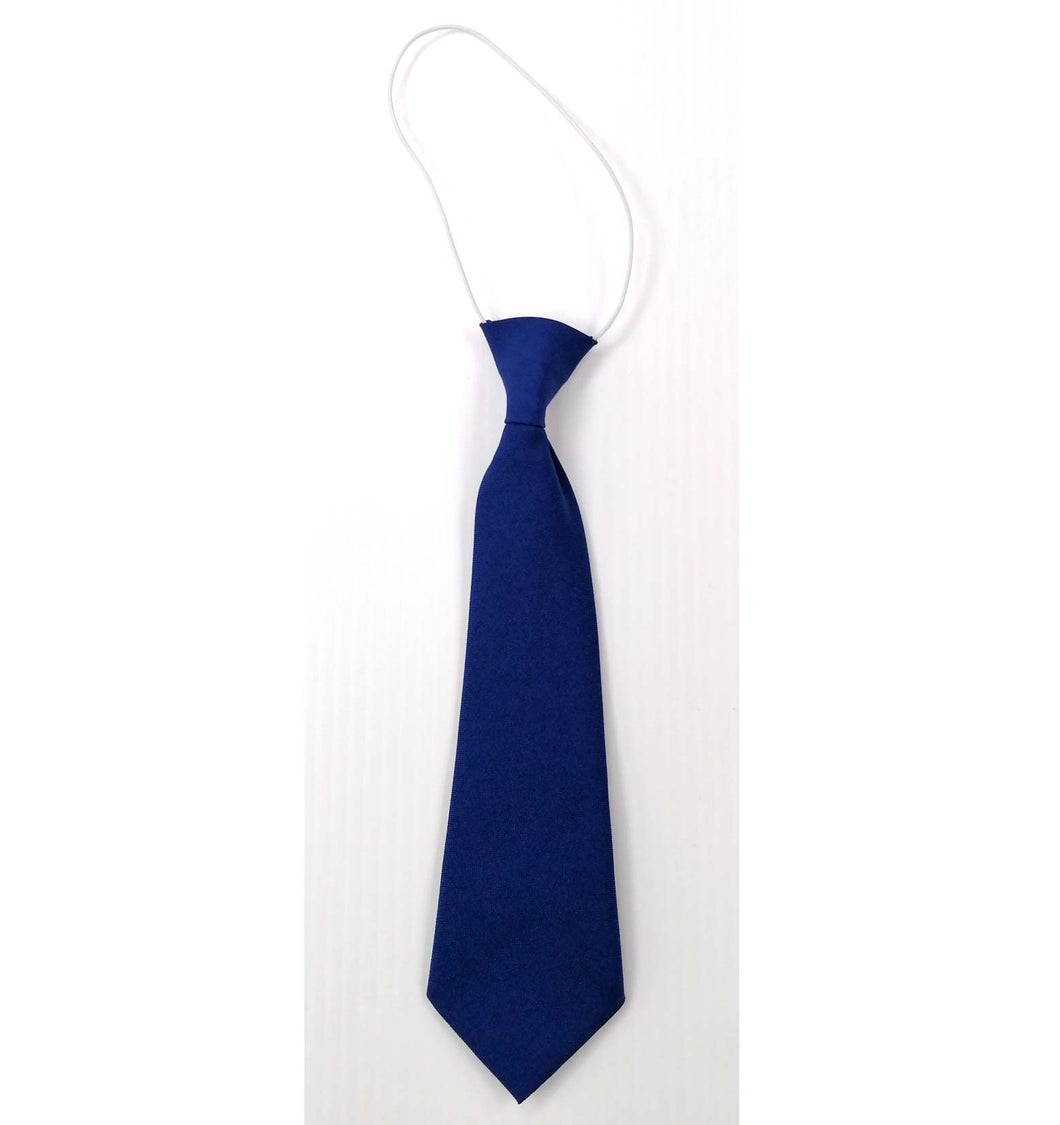 Tie Royal Blue on Elastic