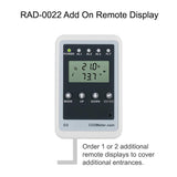 RAD-0002 Oxygen Depletion Safety Alarm extra display