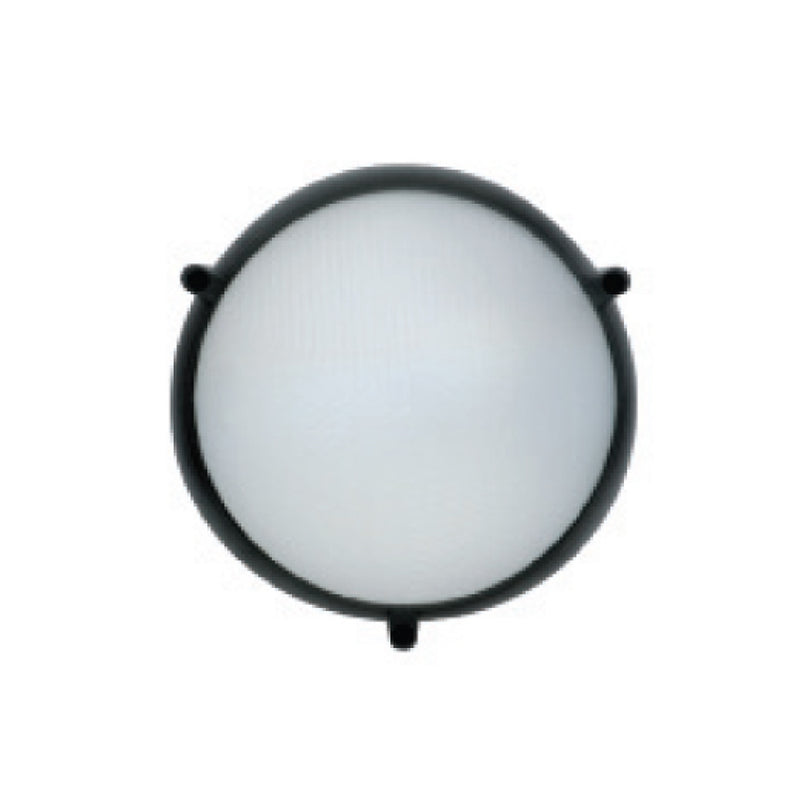 Arealite Trio Plastic Outdoor Living Wall Light Plain