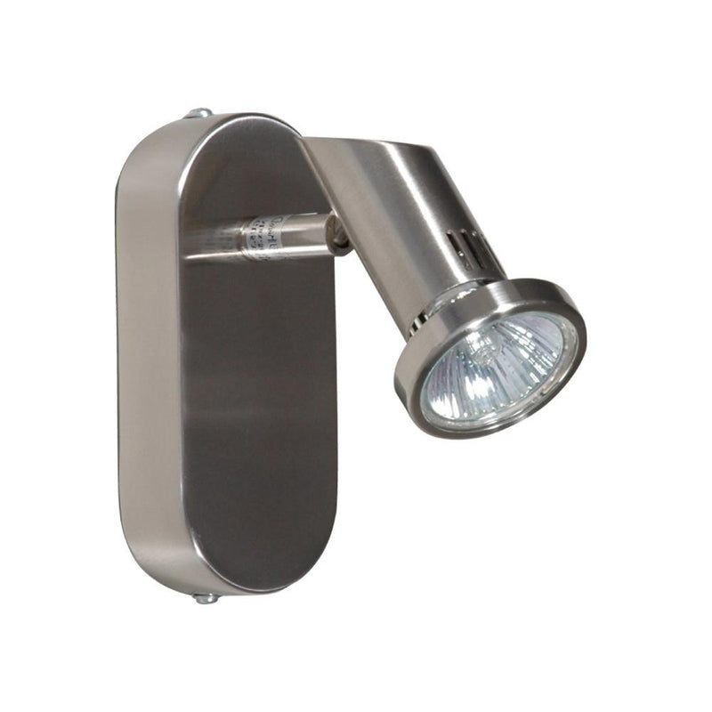 Jena Single Spotlight Brushed Chrome
