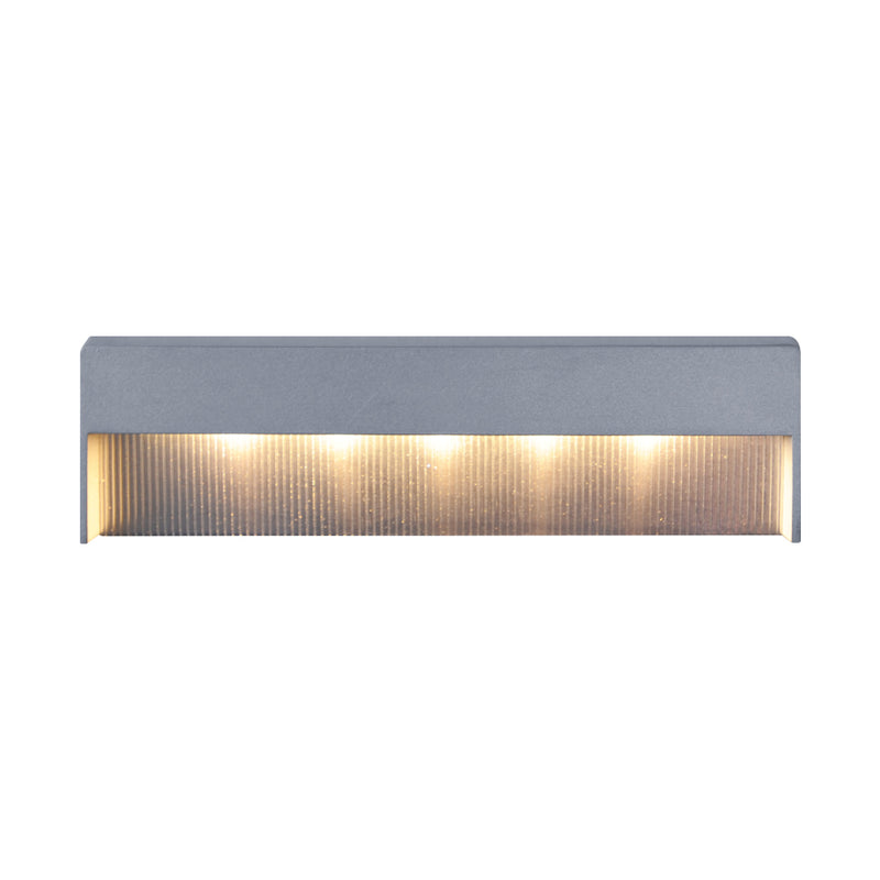 LM6 Aluminium Step / Pathway Recessed Wall Light
