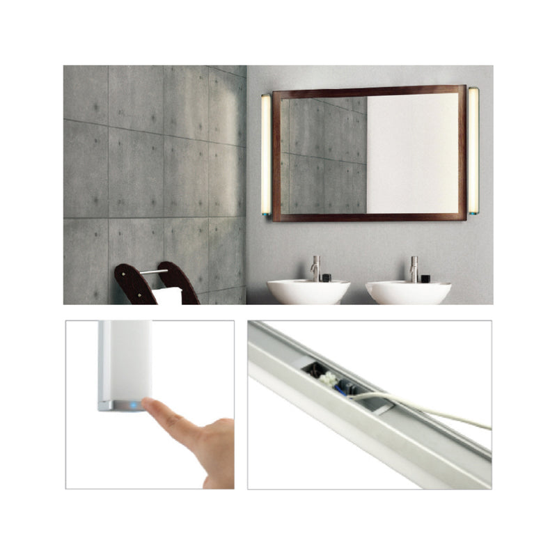 Touch Sensitive Mirror Light
