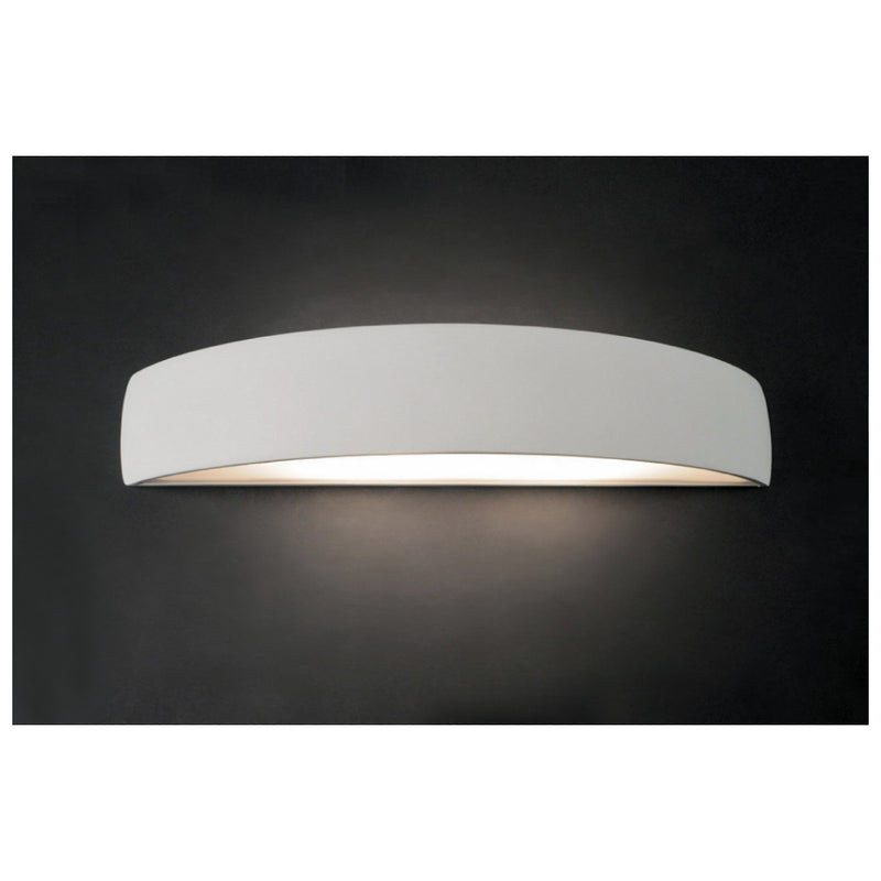 Chameleon - Paintable Plaster - Up / Down Wall Light