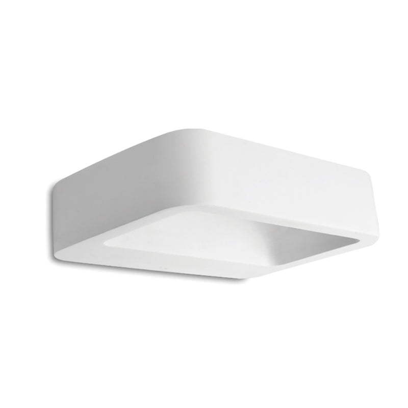Paintable Plaster - Surface Mounted Wall Light