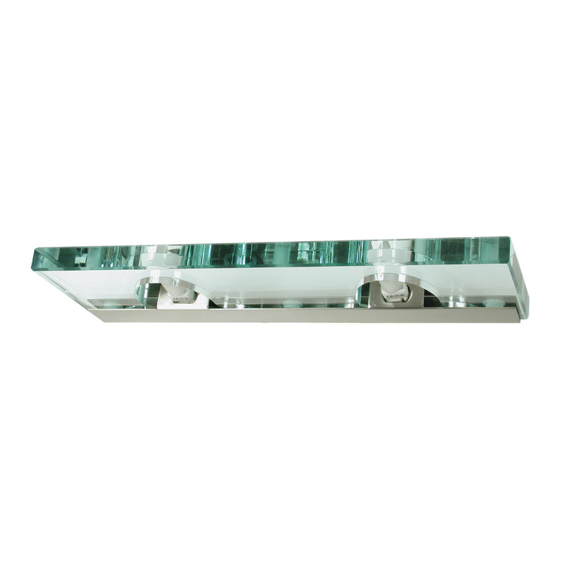 Jasmine - Double Glass Shelf Mirror Light