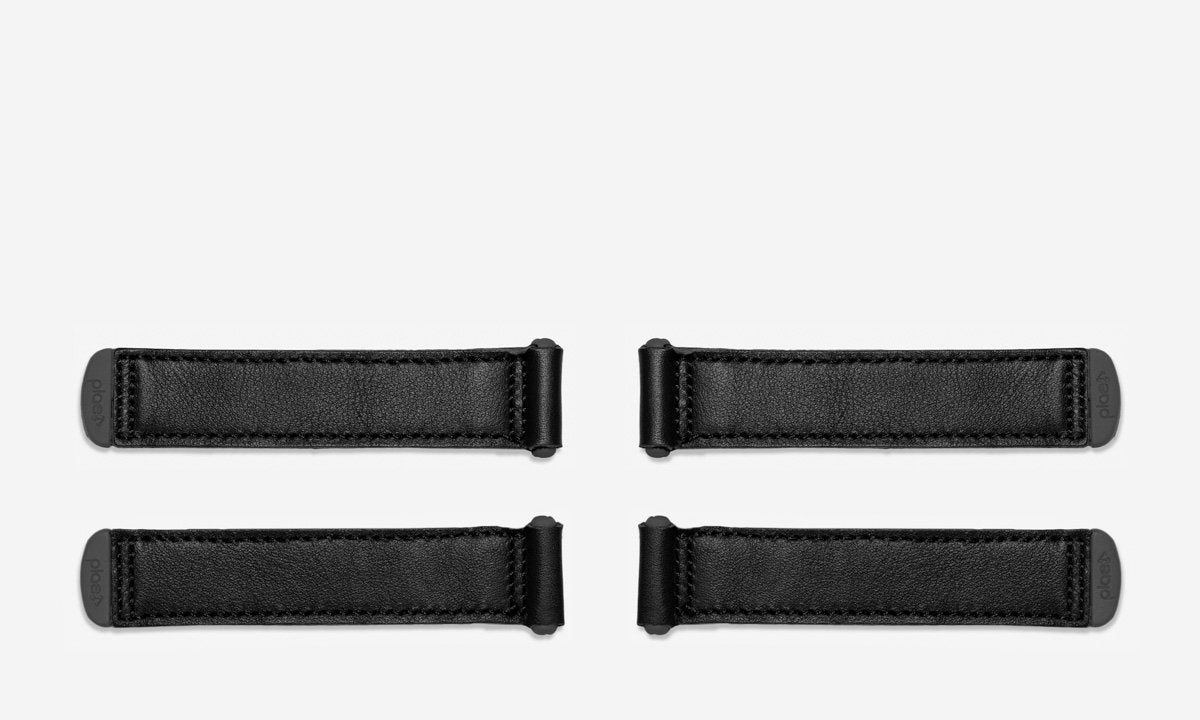 leather - black (4 pack)
