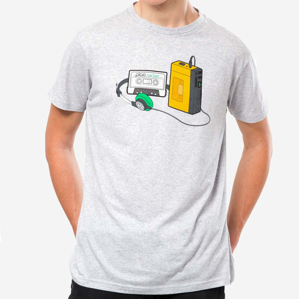 mens mixtape tee - athletic grey heather