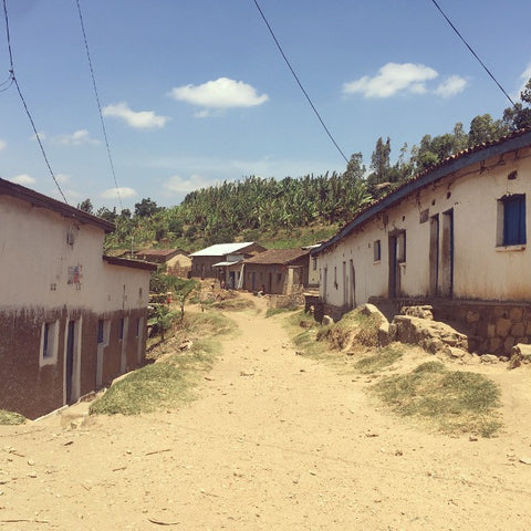Main Street of Gitega Village