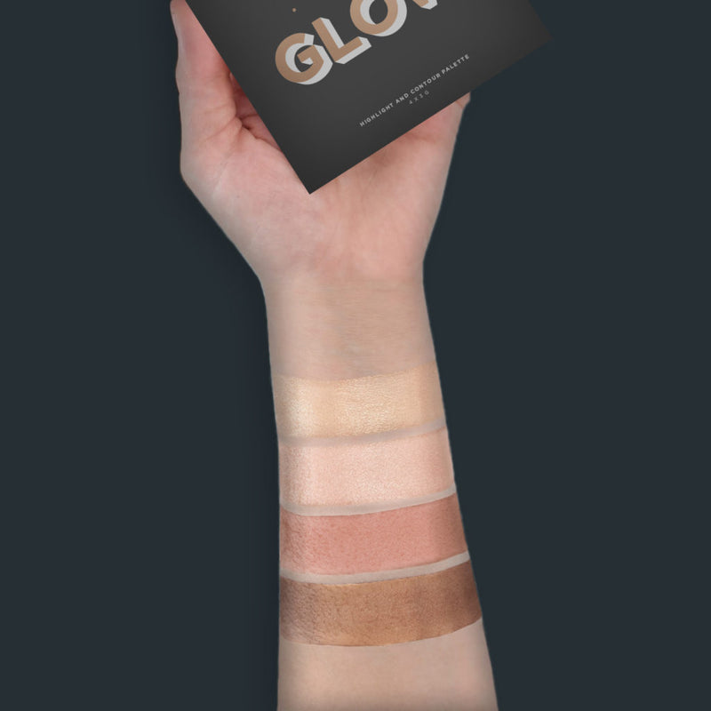 Glow Series - Perfect Glow Highlight and Contour Palette