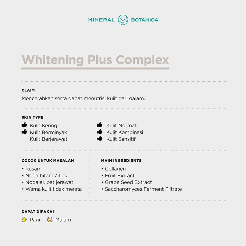 Whitening Plus Complex - Skin Care Set