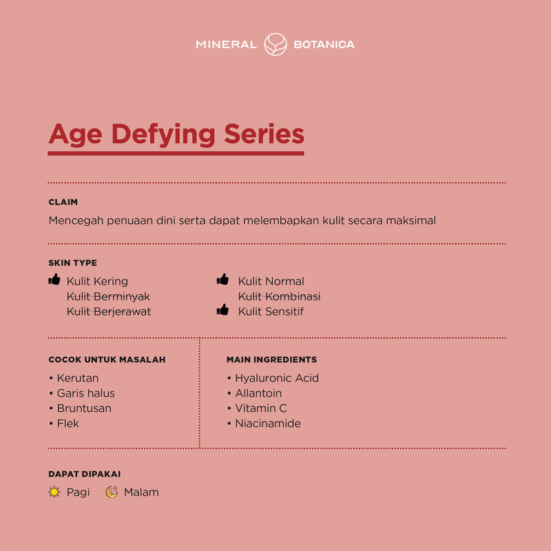 Age Defying - Skin Care Set