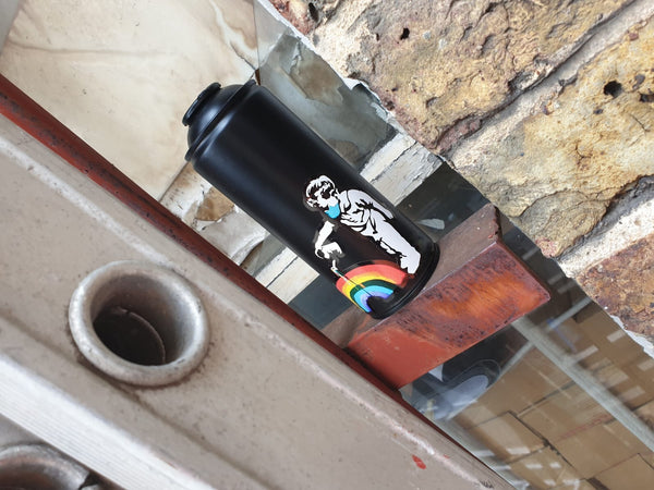 Vinyl Replica 'Rainbow Boy' Spray Can