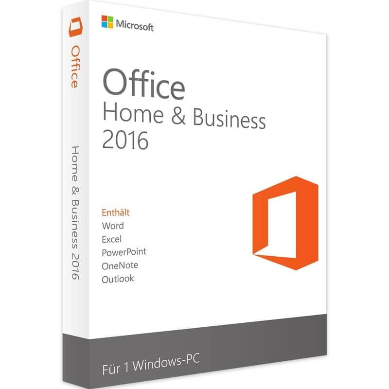Office 2016 Home And Business - LIZENZEXPERTE