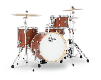 Gretsch Catalina Club 4 Piece Shell Pack Satin Walnut Glaze