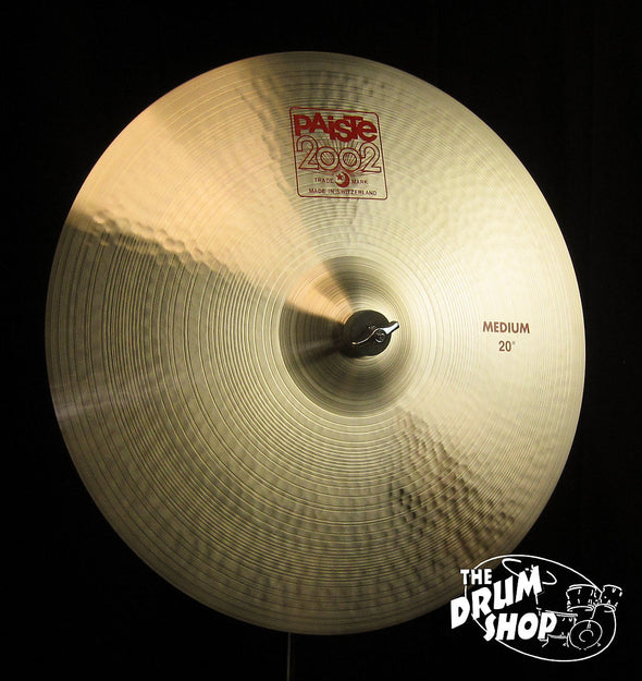 "Paiste 20"" 2002 Medium Crash"