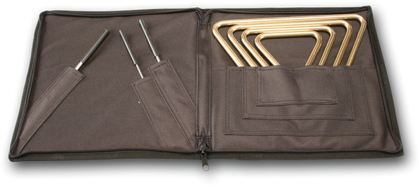 Regular Triangles & Striker Set w/Attache Case