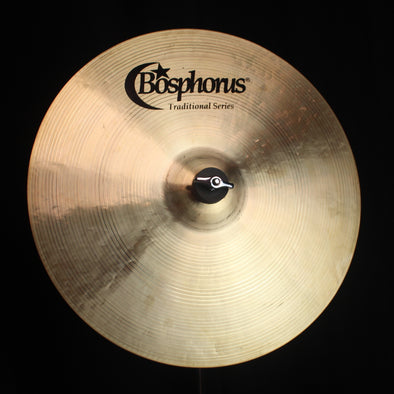"Bosphorus 15"" Traditional Series Medium Thin Crash - 785g"