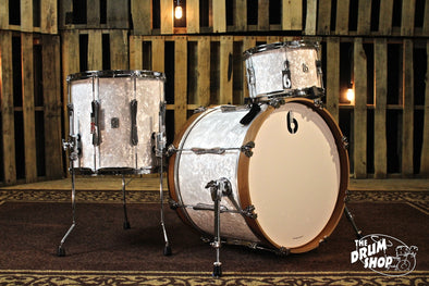 British Drum Co. 3pc Lounge Club Drum Set 20/12/14 - Windermere Pearl
