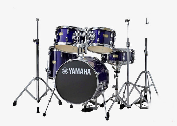 Yamaha Manu Katche Drum Set with Hardware in Deep Violet Lacquer Finish