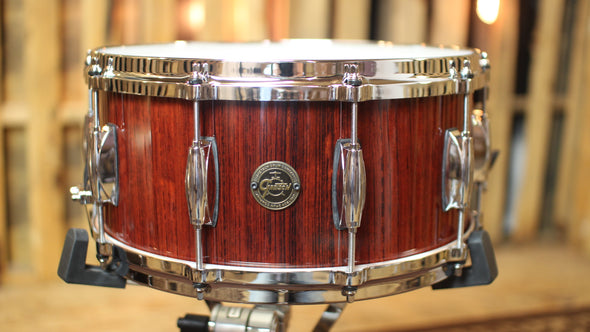 Gretsch Gold Series 6.5x14 Rosewood Snare Drum (video demo)