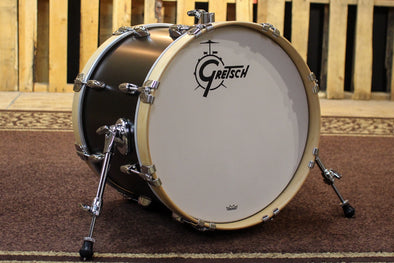 Gretsch Brooklyn 14x18 Satin Dark Ebony Bass Drum