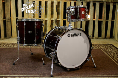 amaha Recording Custom 3 Piece Drum Set, Classic Walnut Finish