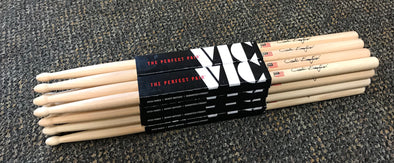 Vic Firth Carter Beauford Signature Series Drumsticks Wood 8 Pair