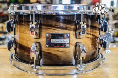 Odery Eyedentity All Birch 7x12 Tiger Black Burst Snare Drum