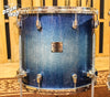 Used Yamaha Birch Custom Absolute Nouveau Blue Sparkle Burst