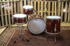 Grestch 135th Anniversary Broadkaster Drum Set, Classic Mahogany Finish