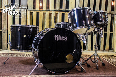 Fibes Austin Era Drum Set 18x24, 8x10, 12x14, 16X18, 8x14 (video demo)