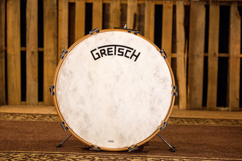 Gretsch Broadkaster 14x24 Bass Drum Antique Pearl  (Vintage Build)