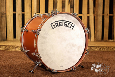 Gretsch Broadkaster 14x20 Bass Drum Satin Copper (Vintage Build)
