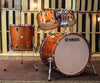 Yamaha Absolute Hybrid Maple Orange Sparkle Drum Set - 22,10,12,16
