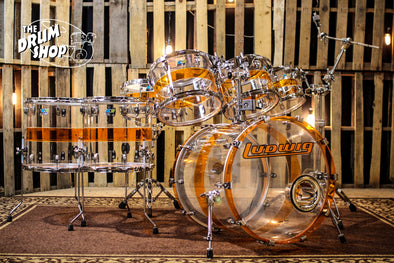 RCI (Ludwig) Acrylic Drum Set
