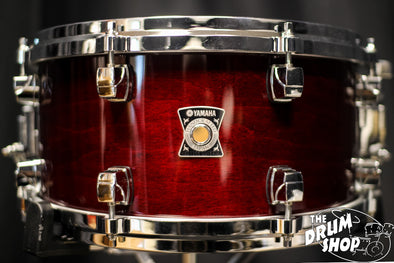 Yamaha Sensitive Series Maple 13x6.5 Cherry Wood Snare