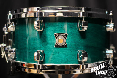 Yamaha Sensitive Series Maple 14x6.5 Turquoise Maple Snare