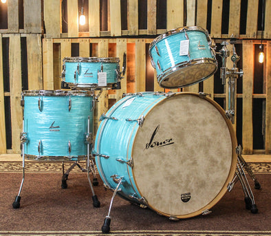Sonor Vintage Series California Blue Drum Set - 24,13,16,6.5x14