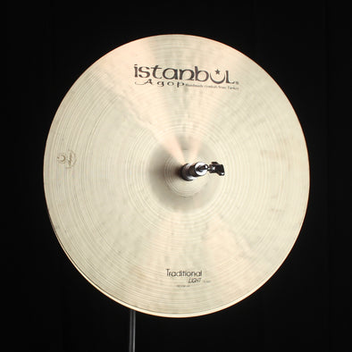 "Istanbul Agop 15"" Traditional Light Hi Hats - 1026g/1228g"